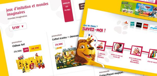 king jouet- bornes e-shopping