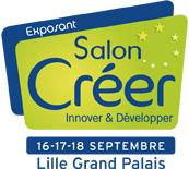ExPOSANT salon creer 2013 logo