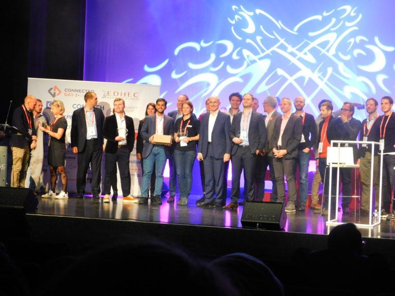 L'ensemble des start up accompagné des membres du jury des ICC Start Up Awards - Novembre 2019 - Crédit Photo : IMPROVEEZE