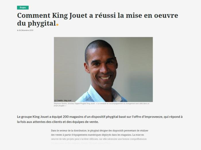 Comment King Jouet a réussi la mise en oeuvre du phygital ?