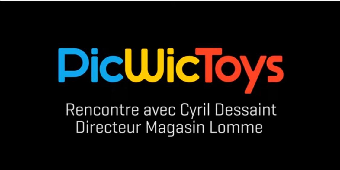 PicWicToys, rencontre avec Cyril Dessaint, directeur du magasin de Lomme
