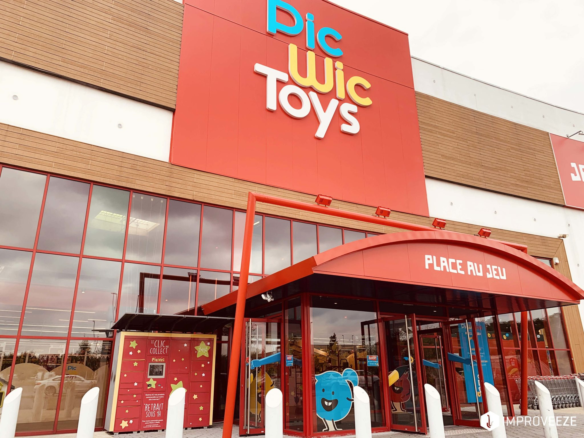 PicWicToys, son magasin de Lomme
