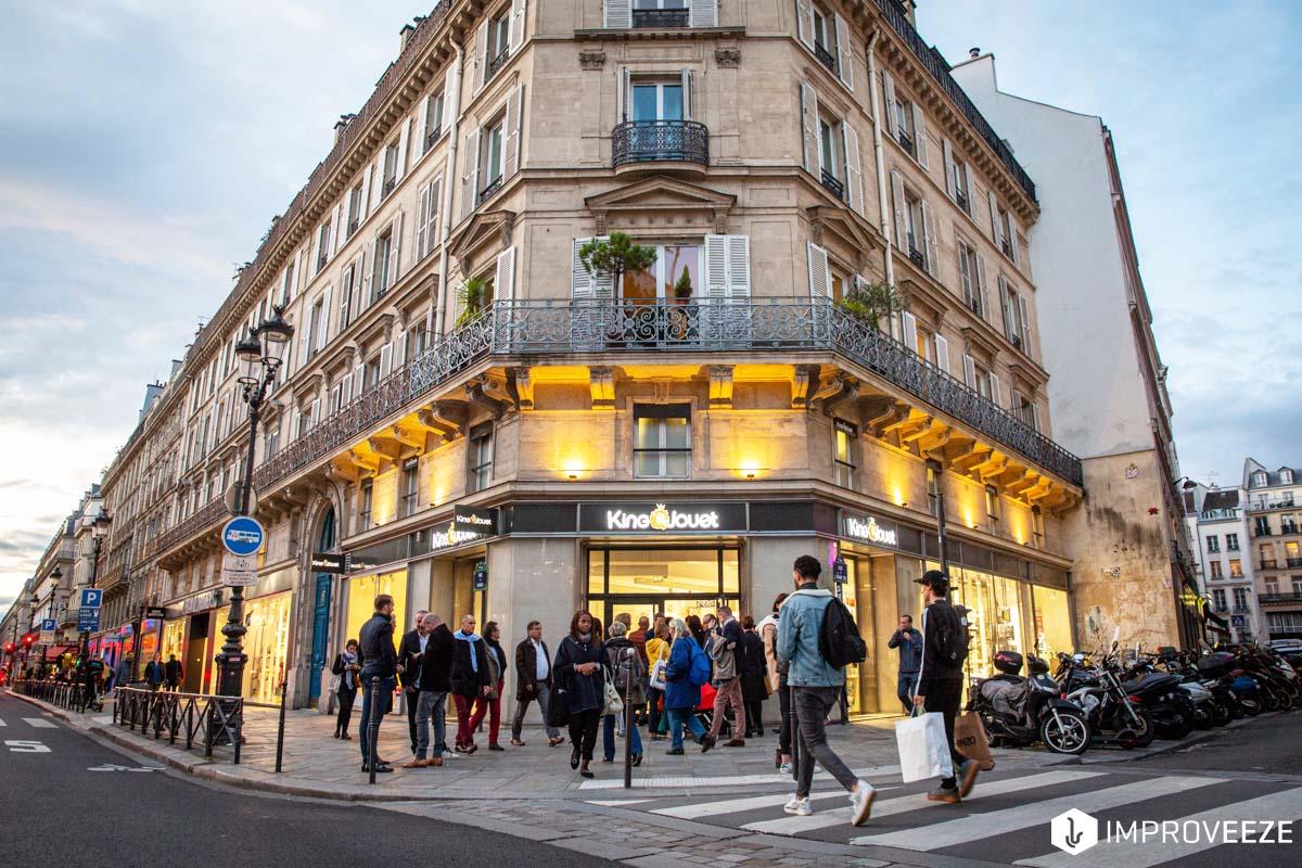 King Jouet, Paris, nouveau concept en centre-ville