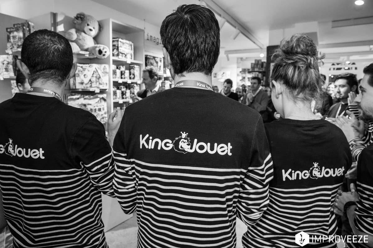 Inauguration de la boutique parisienne de King Jouet