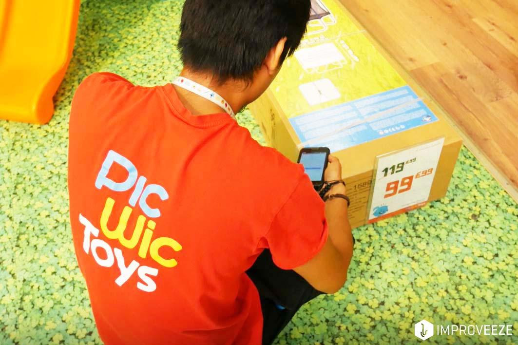 PicWicToys, un vendeur équipé d'un mobile vendeur et de Cataleeze Vendeur