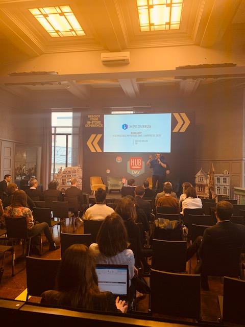 Workshop lors de l'événement HubDay du 30 Janvier 2020 à Paris