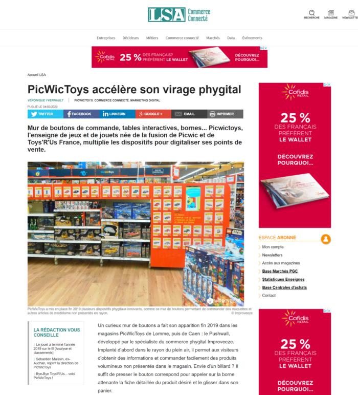 PicWicToys accélère son virage phygital