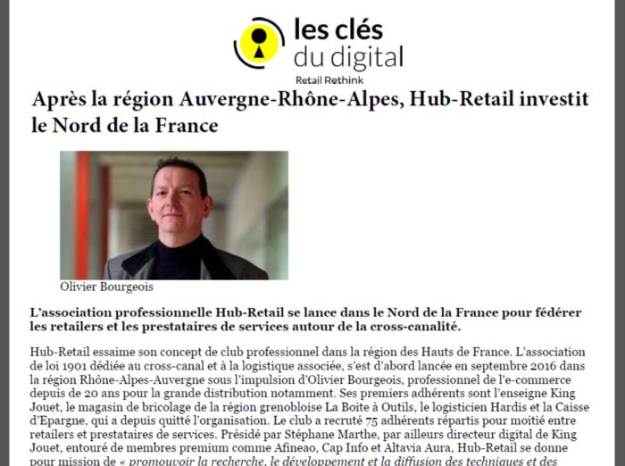 Après l'Auvergne-Rhône-Alpes, Hub Retail investit le nord de la France