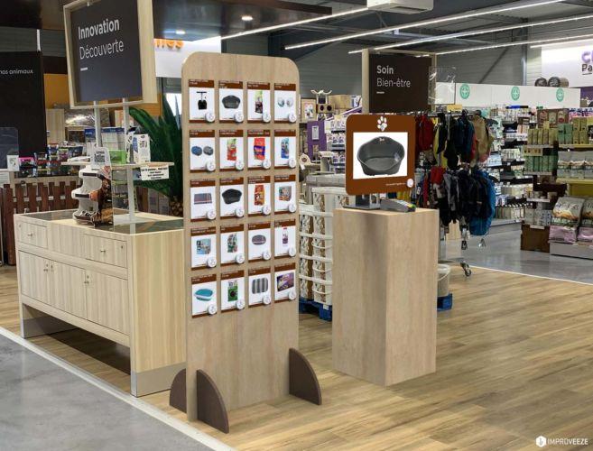 Retail Design, PusheezeWall